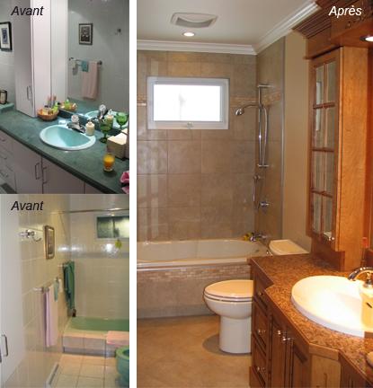 Rénovation salle de bain - Premia Solutions Inc.