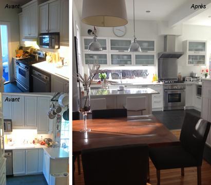 Rénovation cuisine - Premia Solutions Inc.