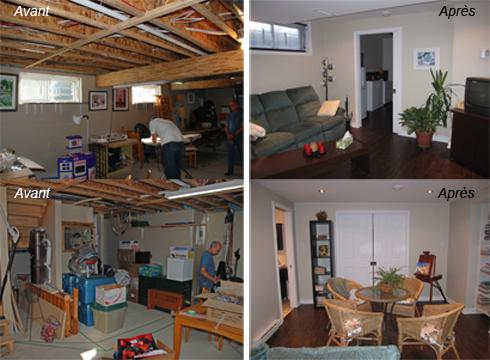 Rénovation sous-sol - Premia Solutions Inc.